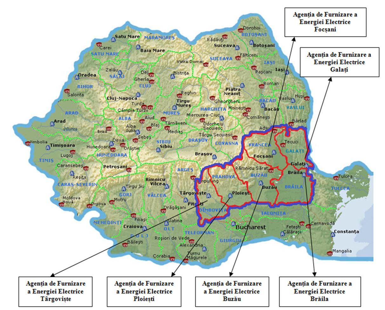 harta sucursala muntenia nord ploiești
